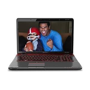 Toshiba Qosmio X775-3DV80 17.3-Inch 3D Gaming Laptop - Fusion X2 Finish in Red Horizon from Toshiba