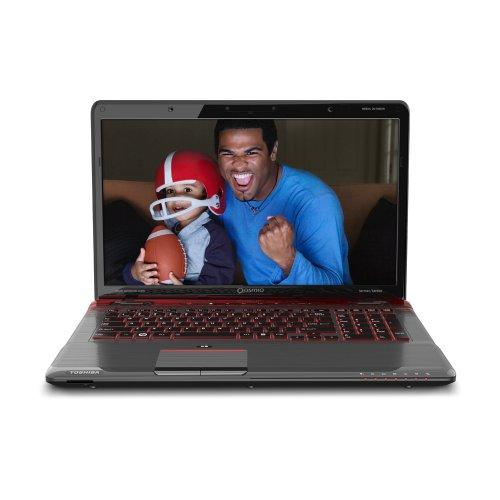 Toshiba Qosmio X775-3DV80 17.3-Inch 3D Gaming Laptop - Fusion X2 Finish in Red Horizon