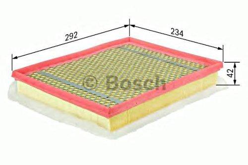 BOSCH Engine Air Filter Insert Fits OPEL Astra H Gtc 1.3-2L 1998- 55556465