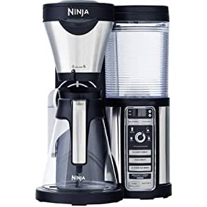 Ninja Coffee Maker Parts : Amazon.com: Ninja Coffee Bar Auto-iQ Brewer with Glass Carafe: Kitchen & Dining