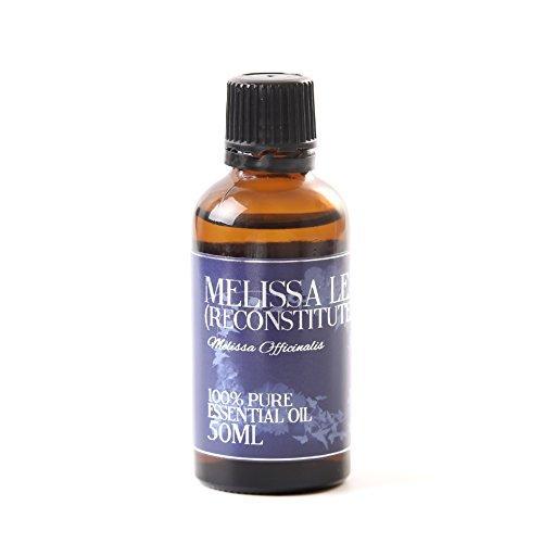 Olio Essenziale Ricostituito Di Foglie Di Melissa - 50ml - 100% Puro