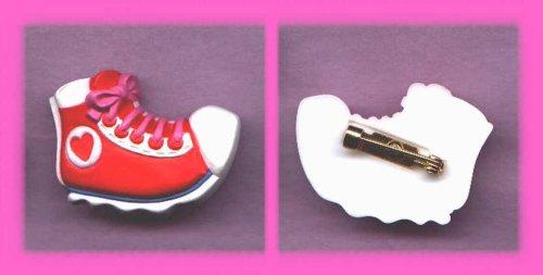 Valentine's Day Hallmark Lapel Pin Shoe with Heart