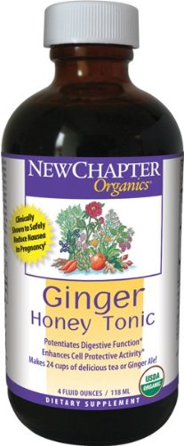 New Chapter Tonic, Ginger Honey, 4-Ounce