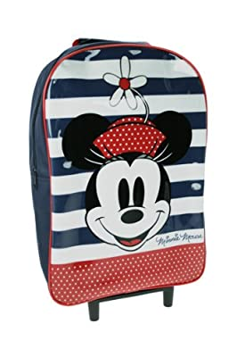 Trade Mark Collections Disney Minnie Mouse Wheeled Bag (Blue) from Trade Mark Collections