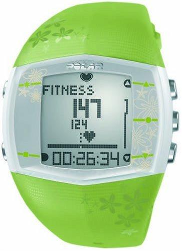 Polar Heart Rate Monitor Battery : Polar ft women s heart rate monitor watch green