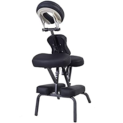 Apontus Portable Folding Massage Chair Tattoo Spa with Carrying Bag