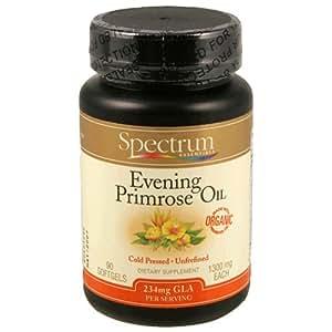 Spectrum Essentials Dietary Supplement, Evening Primrose Oil , 90 soft gels