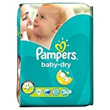 Pampers Baby Dry Size 4+ (9-20kg) Maxi Plus x 41 per pack
