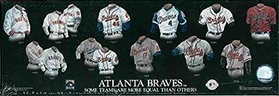 Atlanta Braves MLB 5x15'' Jersey Heritage Wood Plaque