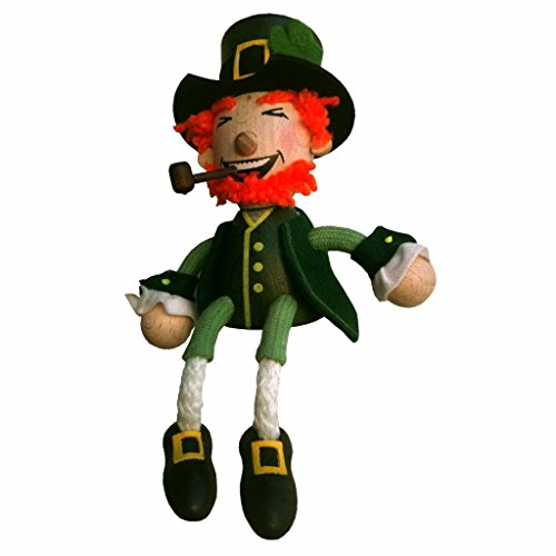 Irish Leprechaun Bouncie on Spring (H6 in) - collect the whole family!