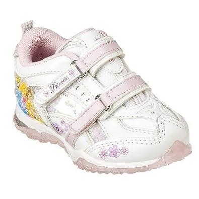 disney princess toddler white tennis