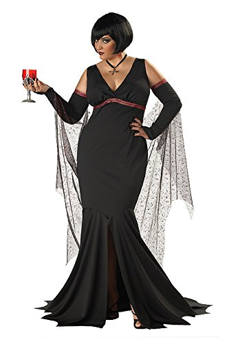 Plus Size Seductress Vampire Costume