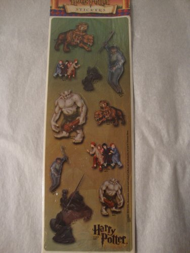 Harry Potter Scrapbook Stickers Chest Piecs, 3 Headed Dog