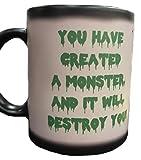 Frankenstein's Monster 8 oz Color Changing Coffee or Tea Mug