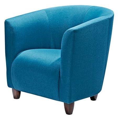 Hikenn Sessel Polstersessel Cocktailsessel Webstoff