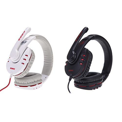 Somic G923 3.5mm Plug Stereo Gaming Headphone with Microphone for PC Computer