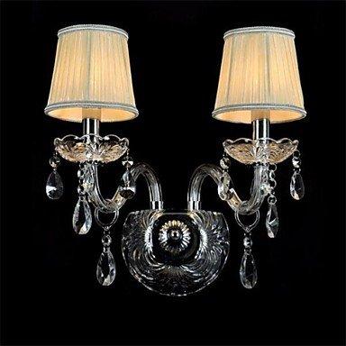 lampe de mur de cristal transparent