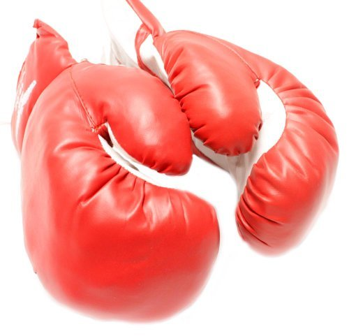 New 1 Pair of Youth Red 4oz. Boxing Gloves - For Kids - 1