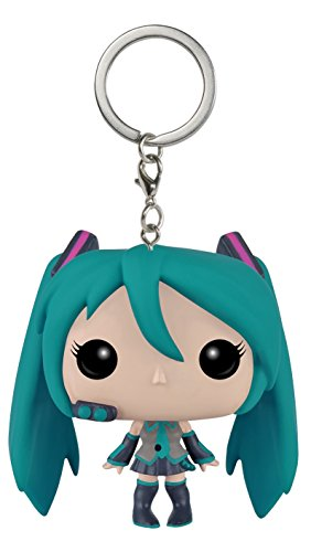 Vocaloid Hatsune Miku Pocket Pop! Portachiavi Vinyl Figura