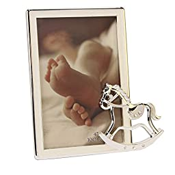 Baby Picture Photo Frame With Rocking Horse Icon By Haysom Interiors