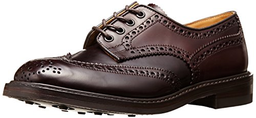[トリッカーズ] Tricker's Tricker's Full Brogue Derby Shoe  - Cordovan -  (Dainite Sole) M7292-18 Burgundy(Burgundy/8)