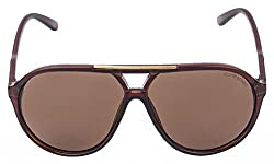 Oliver Street Aviator Brown Sunglasses (Os-001)