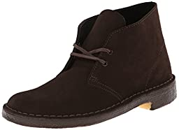 Clarks Originals Men\'s Desert Boot,Brown Suede,10 M US