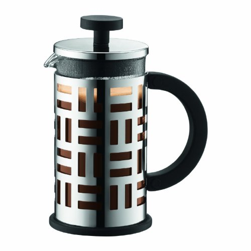 Bodum Eileen French Press Coffee Maker, 12-Ounce (Chrome)