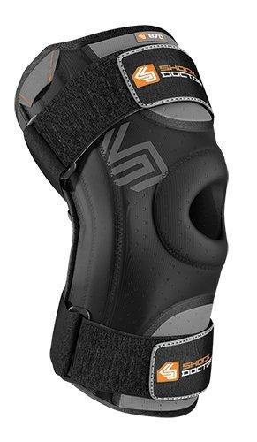 Shock Doctor - Stabilizzatore per ginocchio, colore: Nero, Taglia: L