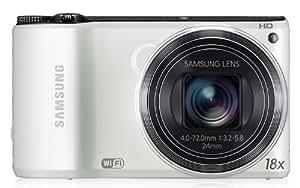"Samsung WB200F Appareil photo numérique 14,2 Mpix Ecran 3"" WiFi USB Blanc"