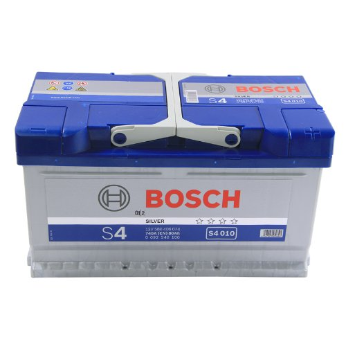 BOSCH S4 AUTOBATTERIE S4 010 12V 80AH 740A 580