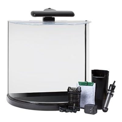 Tetra 29234 Half Moon Aquarium Kit, 10-Gallon