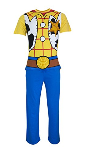 "Mens Toy Story Woody-Abendkleid -Pyjamas - G - Sml / 36-38"" Chest / 30-32"" Waist"