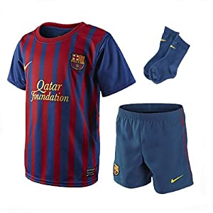 Nike Barcelona Home Kit Boys