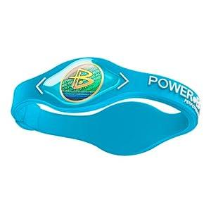 Power Balance / GWSA09BK00WTLP Bracelet silicone Bleu aquatique L