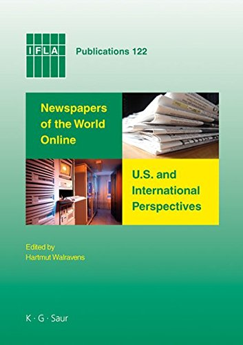 IFLA 122: Newspapers Of The World Online (IFLA Publications)