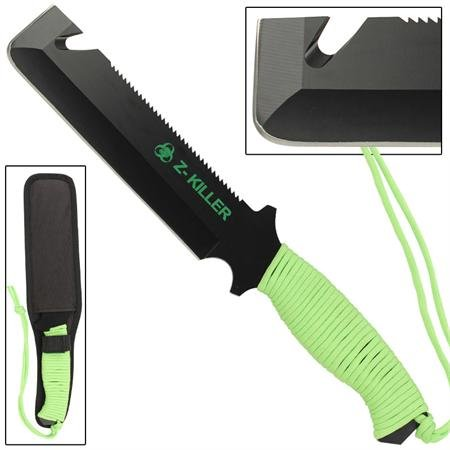 Zombie Killer Gut Hook Tactical Knife