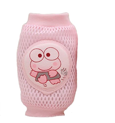 Find Discount Blackcell Infant Toddler Baby Knee Pad Crawling Safety Protector (Frog pink)