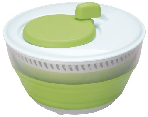 Progressive Progressive CSS-2 Green Collapsible Salad Spinner - 3 Quart Capacity