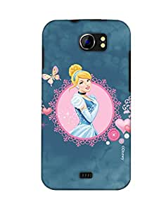 Pick pattern Back Cover for Micromax A110 Canvas 2