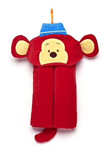 GUND Kids Monkers Monkey Hooded Towel, Monkers Monkey, 24'' By 48''