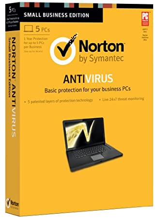 Norton Antivirus 2013 - 5 Users