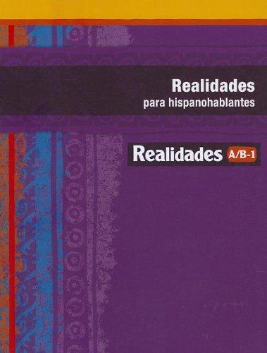 REALIDADES 2014 PARA HISPANOHABLANTES LEVEL A/B/1