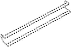 Wenko 5970100 Krawatten und Gürtelhalter zum Schrankeinbau, 36 x 5 x 4.5 cm, chrom