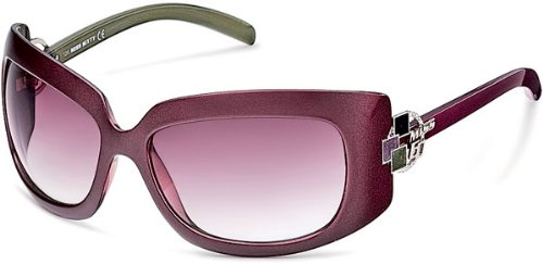 41jXH4GNrEL MISS SIXTY SUNGLASSES WOMENS PEARL VIOLET GREEN MX318S