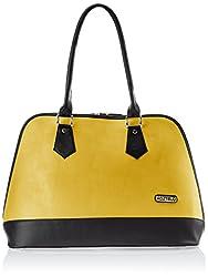 Fostelo Women's Handbag (Yellow) (FSB-367)
