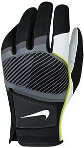 Nike Golf Tech Flow Glove Black White Volt by Nike Golf