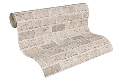 Carta da parati mattone l 39 effetto legno pietra a casa e for Carta da parati adesiva effetto muro