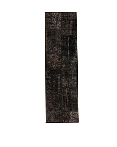 Design Community By Loomier Alfombra Anatolian Patchwork Fresh Carbón 60 x 200 cm