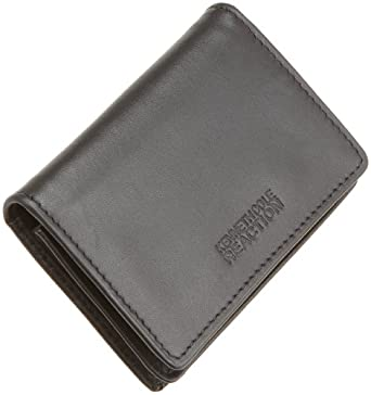 Kenneth cole reaction men39s business card case black one for Mens business card case